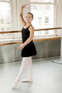 Tendu A ballet barre combination