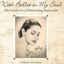 With Ballet in My Soul, by Eva Maze A Book Review